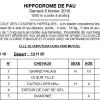 RÉSULTAT COURSE ÉCOLE - PAU - 06/02/2016